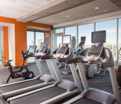 Hollywood LIT Urban Austin Retreat Fitness Center
