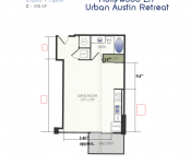 Hollywood LIT Urban Austin Retreat Layout